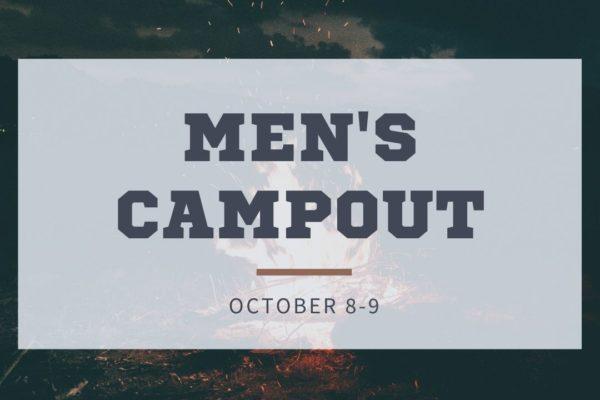 Men's Campout Square